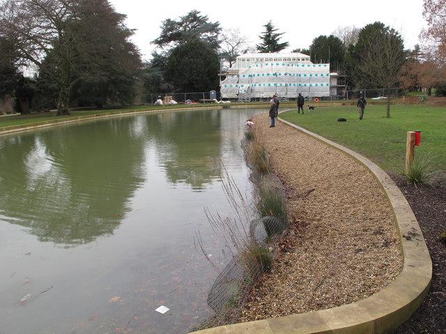 Gunnersbury Park orangery and horseshoe pond restoration