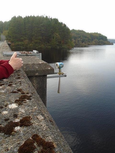 Reservoir Water Height Gauge