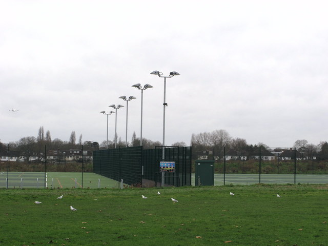 Gunnersbury Park artificial grass football pitches