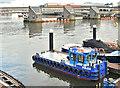 "J3474 : The workboat ""Volga"", Belfast (February 2018) by Albert Bridge"