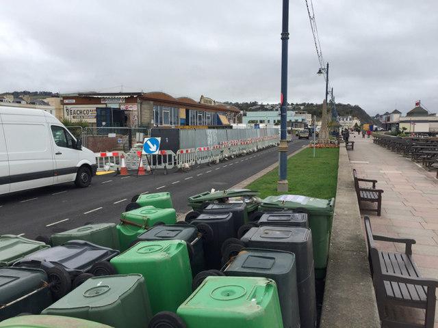 Beachcomber Café, Teignmouth seafront