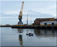 NZ4057 : Corporation Quay and the River Wear, Sunderland by Mat Fascione