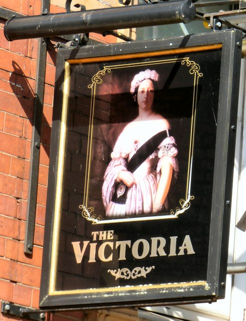 Sign of the Victoria
