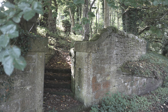 Steps to Herdley Bank