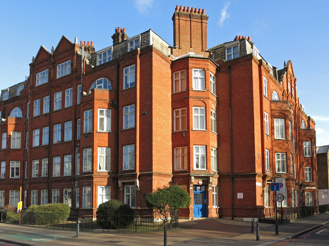 Park Mansions, South Lambeth Road / Lawn Lane, SW8