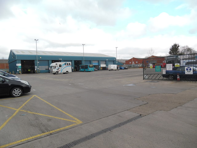 Arriva Bus Depot, High Wycombe (2)