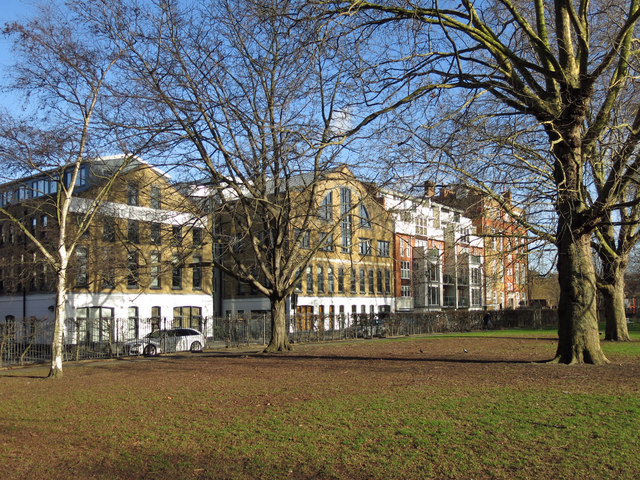 Vauxhall Park by Lawn Lane, SW8