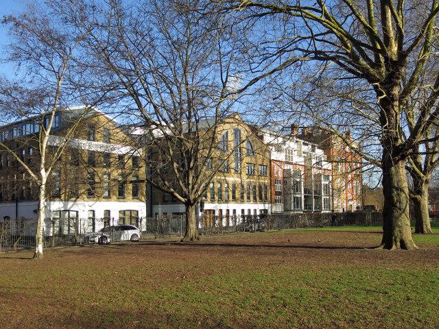 Vauxhall Park by Lawn Lane, SW8