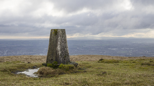 Black Mountain South Triangulation Pillar