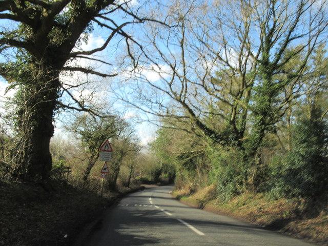 Callow Hill Lane Near Callow Hill