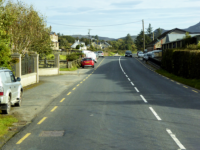 R238 passing the Inishowen Engineering Factory