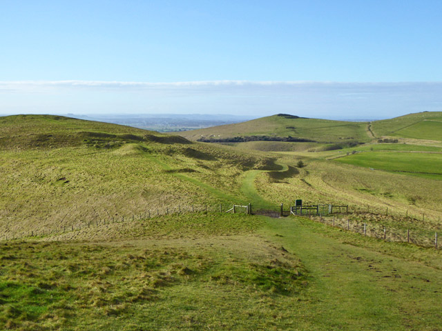 Downland west of Golden Ball Hill