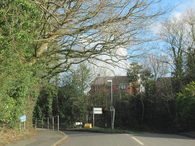Crumpfields Lane Redditch Junction With Green Lane