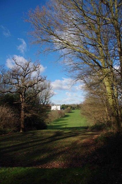 Terraces in Beckenham Place Park
