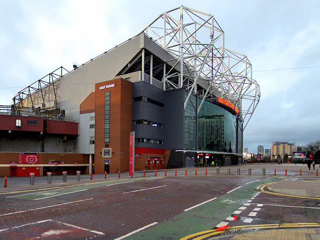 Old Trafford, Concourse and East Stand