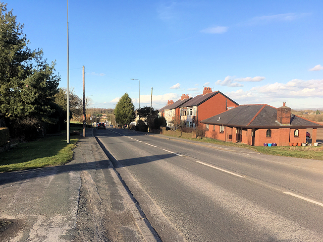 Standish, Preston Road (A49)
