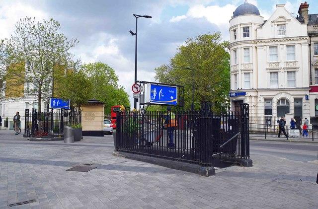 Public toilets, Elgin Avenue, Maida Vale, London