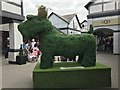 SJ4174 : The Cheshire Oaks Big Radley Dog by Jonathan Hutchins