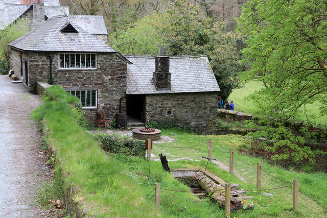 Cotehele Mill - ancillary buildings
