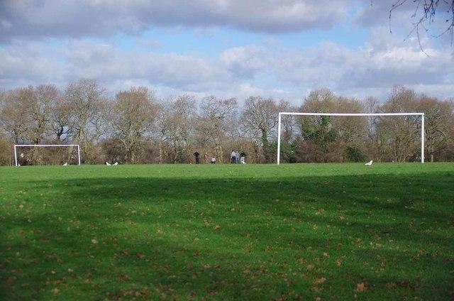 Footie in Forster Park