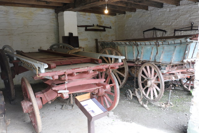 Cotehele Mill - wagon shed