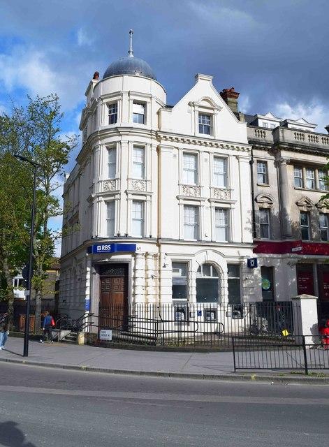 The Royal Bank of Scotland, 2 Elgin Avenue, Maida Vale, London
