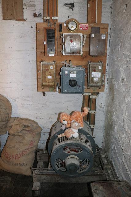 Cotehele Mill - generator
