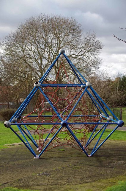 Climbing Frame on Dowmham Fields
