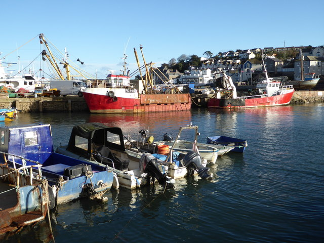 Brixham Harbour - fishing vessels
