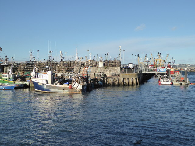 Brixham - fishing harbour