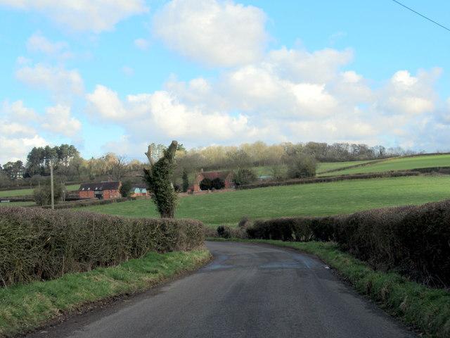 Holyoakes Lane Near Thrifwood Farm