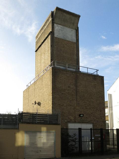 Victoria Line ventilation shaft, Rita Road, SW8 (3)