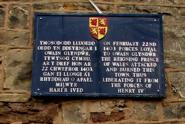Events of February 22nd 1403 recorded on a Hope wall, Flintshire