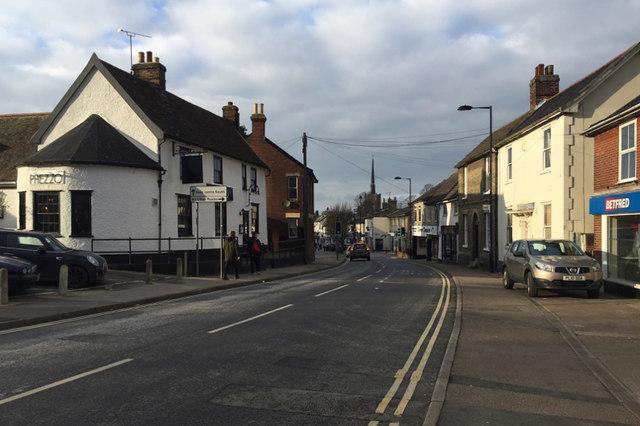 North on Ipswich Street, Stowmarket
