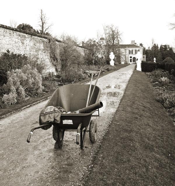 Gardening in the Winter, Polesden Lacey