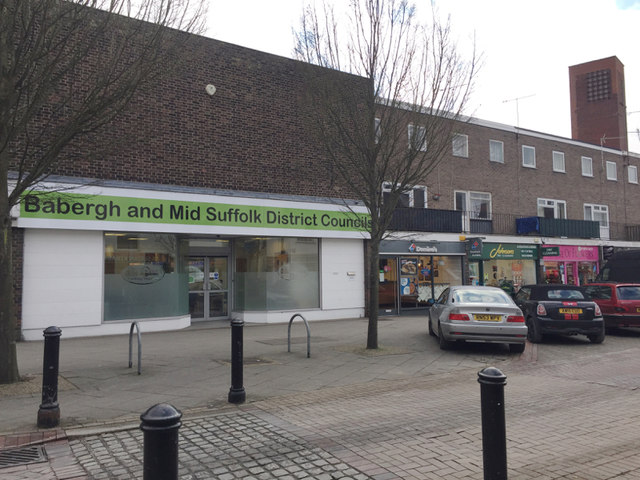 Offices of Babergh and Mid Suffolk District Councils, Ipswich Street, Stowmarket