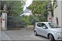 TQ2764 : Gates to Carshalton House by N Chadwick