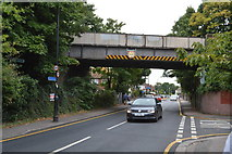 TQ2764 : Railway Bridge, West St by N Chadwick