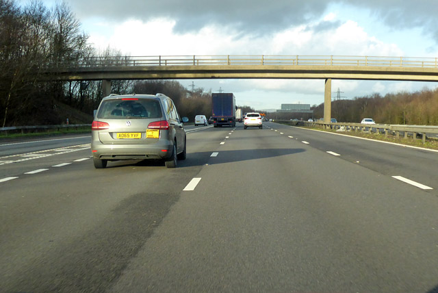 M23 northbound