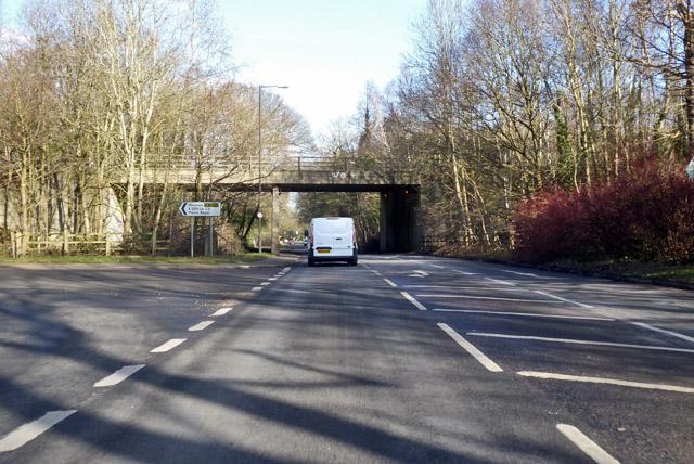 B2036 Balcombe Road, heading north