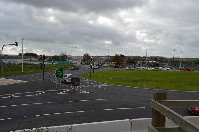 Roundabout, A38
