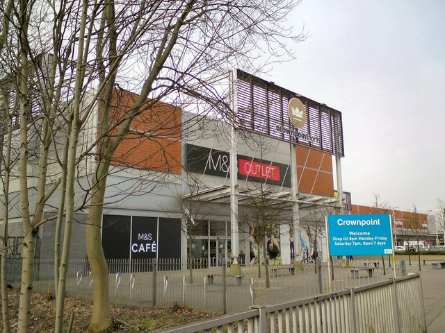 M&S Outlet at Crown Point North