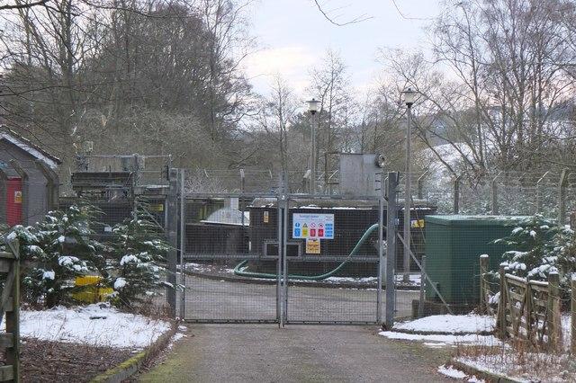 Sewage works, Eddleston