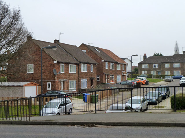 Houses on Courtenay Gardens and Carmelite Road
