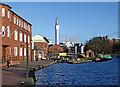 SP0686 : Farmer's Bridge Top Lock and Cambrian Wharf, Birmingham by Roger  Kidd