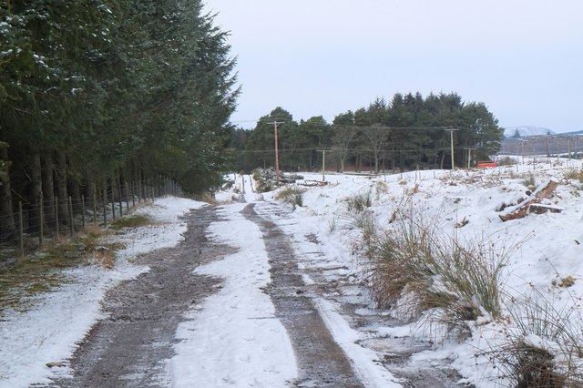 Old Post Road near Eddleston