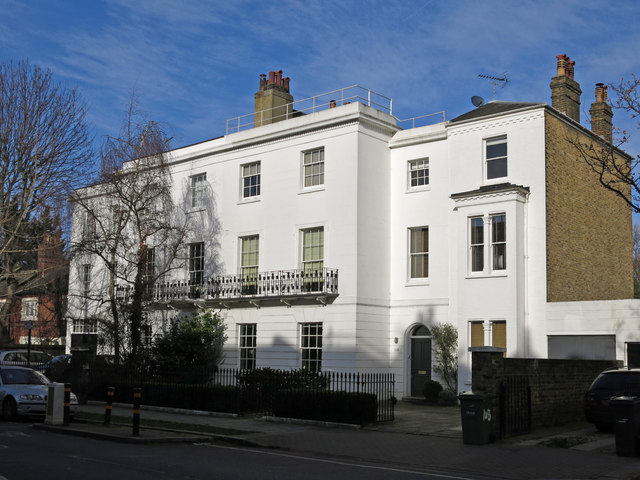 Houses in Fentiman Road, SW8