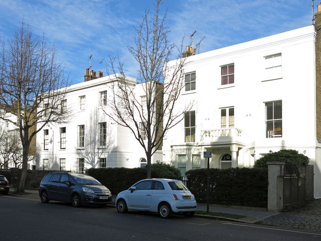 Houses in Fentiman Road, SW8 (2)