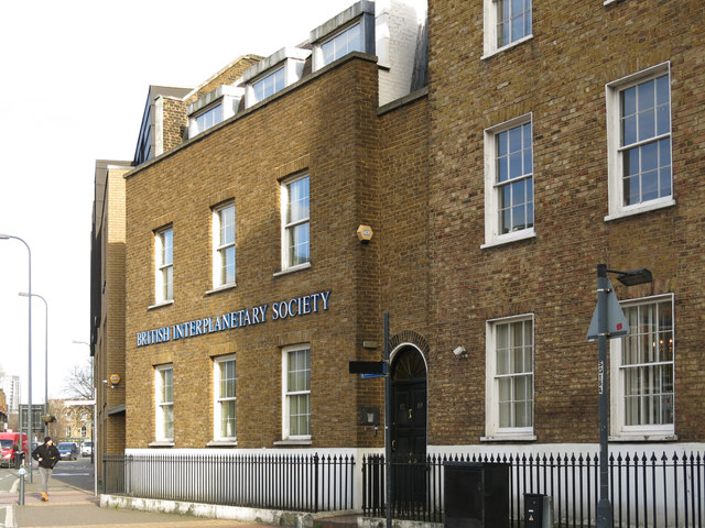 The British Interplanetary Society, South Lambeth Road, SW8