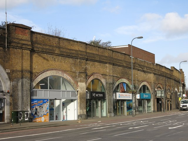Railway arches, South Lambeth Road, SW8